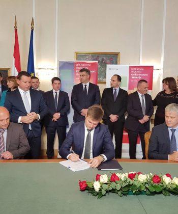 Potpisani ugovori za 7 projekata iz područja upravljanja vodama u Slavoniji